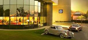 Dream cars of yesteryear are reborn at the mercedes for Mercedes benz classic center irvine